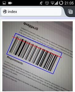 QuaggaJS An Advanced Barcode Reader Written In JavaScript