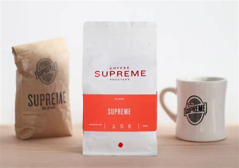 coffee supreme coffee supreme packaging best awards