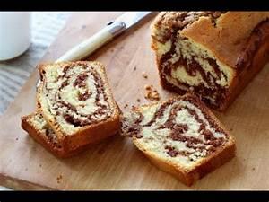Faire Briller Le Marbre : comment faire un cake marbr au nutella youtube ~ Dailycaller-alerts.com Idées de Décoration