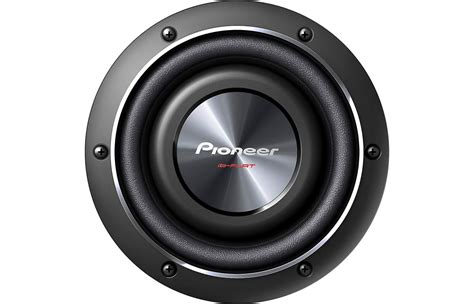 free air subwoofer pioneer ts sw2002d2 8inch shallow subwoofer free air driving sound