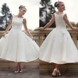 simple plus size wedding dresses plus size wedding dresses 2015 cheap simple stain bridal gown custom made tea length