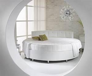 Lit Rond But : les avantages et les inconv nients d 39 un lit rond bricobistro ~ Teatrodelosmanantiales.com Idées de Décoration