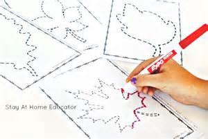 pattern worksheets preschool 6 low prep fall activities for preschoolers stay at home educator