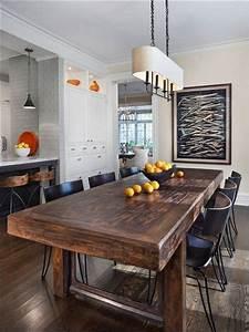 8 idees de salle a manger moderne rustique industrial With table salle a manger rustique