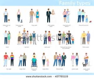 Different Types Family Clip Art