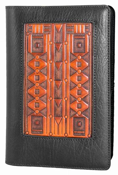 Journal Leather Icon Deco Refillable Covers Hokusai