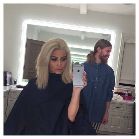 Kim Kardashian Now Has Platinum Blonde Hair