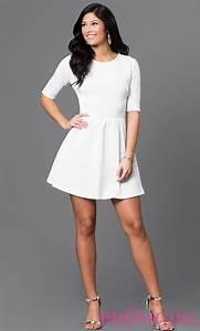 22 Cute White Graduation Dresses Under $100 - GetFashionIdeas.com - GetFashionIdeas.com