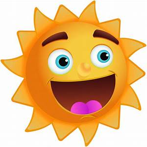 Picture Of A Smiling Sun - Cliparts.co