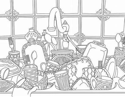 Coloring Adult Pages Moms Books Snarky Kitchen