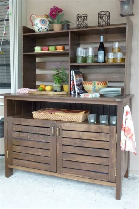 Outdoor Sideboard Cabinet by Reader Showcase Chesapeake Buffet The Design Confidential