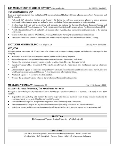 Talent Development Manager Resume by Craig Dickerson Resume Learning Leadership And Talent