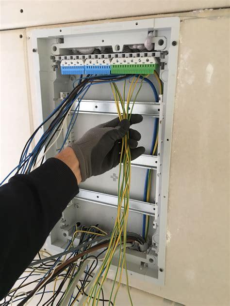 haus elektroinstallation selber machen wie unterverteiler einbauen und verdrahten elektroinstallation selber machen