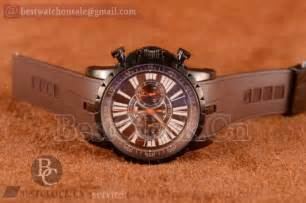 Roger Dubuis Matic Brown Rubber roger dubuis buy replica watches on bestclock cn
