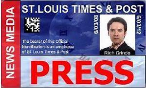 id badge template press pass With media pass template