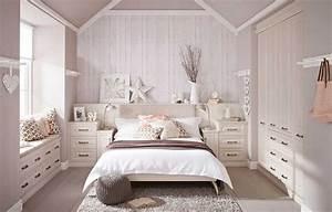 Chambre Parentale Romantique : deco chambre romantique beige interesting lavand with ~ Premium-room.com Idées de Décoration