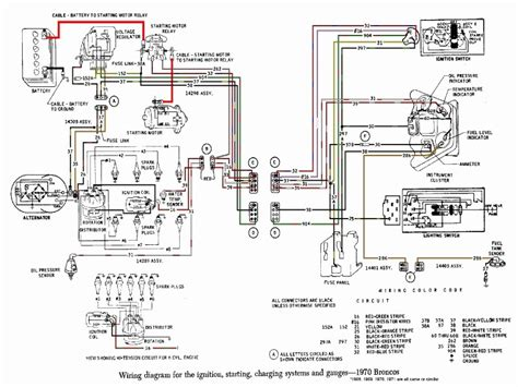 Ford Bronco Wiring Harnes Diagram by 1975 Ford Bronco Wiring Diagram Lighting Wiring Forums