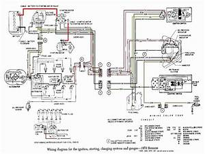 1975 Ford Bronco Wiring Diagram Lighting