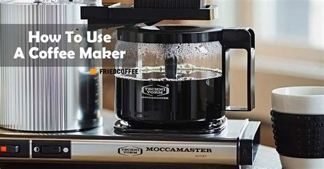 We're equal parts a passionate horde of amiable amateurs and the back room lounge of the coffee industry. How To Use A Coffee Maker - Auto Drip Brewing Guide | Friedcoffee