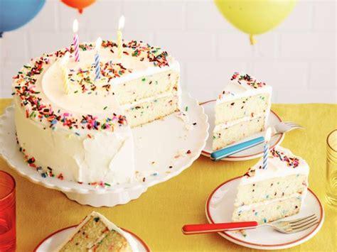 Fluffy Confetti Birthday Cake Recipe  Food Network