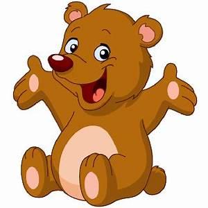 Cute Brown Bear Clipart