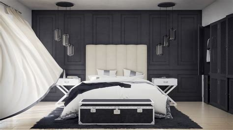 Black And White Bedroom Wall Design by 40 Beautiful Black White Bedroom Designs