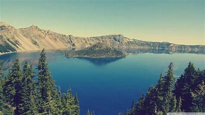 Crater Lake Oregon Standard Ultrawide Desktop 4k