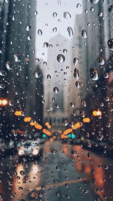 City Rain Wallpaper Iphone