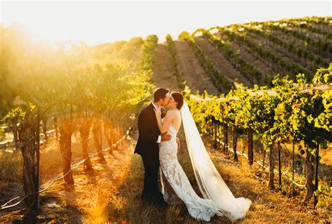 Eberle Winery Wedding