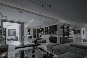 Intrieur De Maison Moderne Un Duplex Avec Toit Terrasse