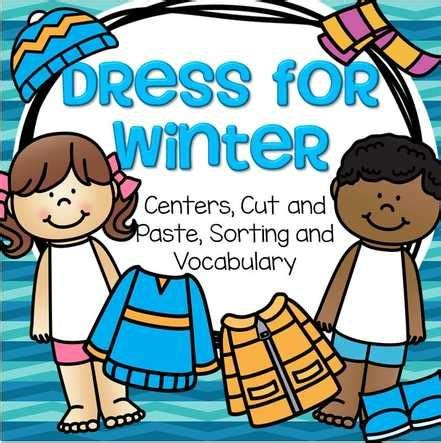 winter preschool activity  images winter