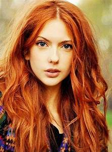 Orange Red Hair With Blonde Highlights Cabelo Ruivo