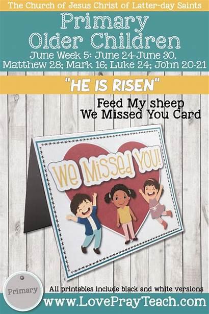 June Primary Matthew Come Follow Risen Week