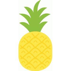 pineapple top silhouette silhouette design view design 62345 pineapple