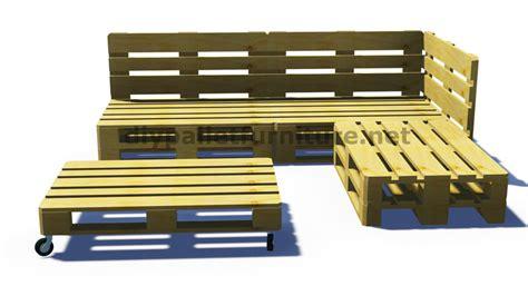 faire des canap駸 salon exterieur palette et plans d de la faon de faire un canap pour le jardin avec