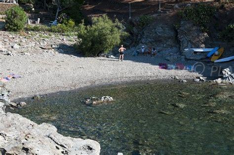 plage de balanti port vendres  pyrenees orientales