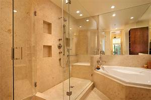 What small recessed lights can be used for shower/wet areas?