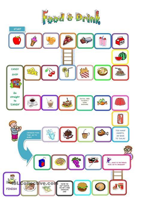 food and drink board teaching children esl 257 | 0c880bbb85be24cb7a66a3cb1392a7b1