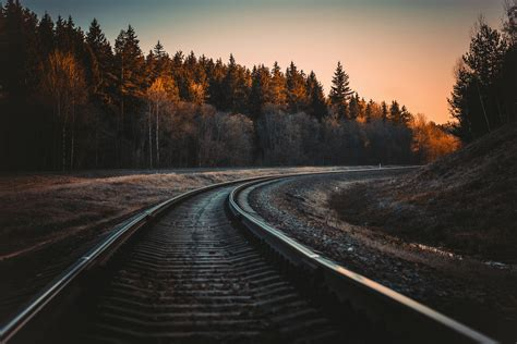 train rail  hd photography  wallpapers images