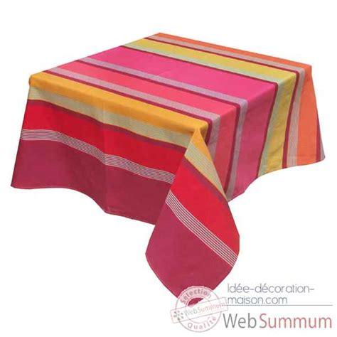 nappe cuisine nappe rectangulaire artiga bidos 300 x 160 dans nappe de