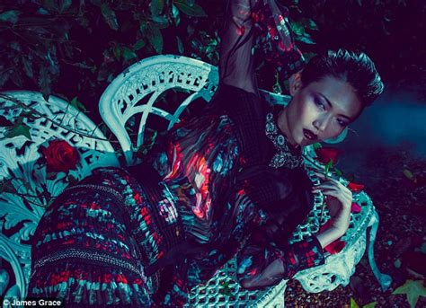 fashion midnight gardensumptuous eveningwear daily
