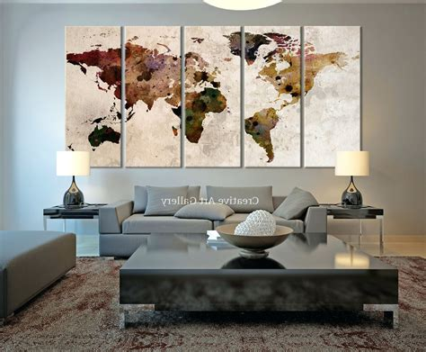 Wall For Living Room Ireland by 15 Best Collection Of Ireland Canvas Wall