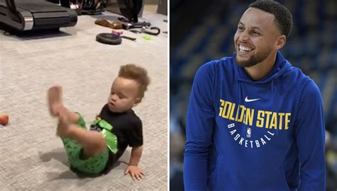 Wardell stephen curry ii is the son of sonya and dell curry.he was born in akron, ohio, at summa akron city hospital (the same hospital where lebron james had been born slightly over three years earlier), while his father was a member of the cleveland cavaliers. NBA - La séquence géniale entre Steph Curry et son fils