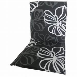 Kissen Maße Standard : niedriglehner kissen ca 98x48 cm weisse graue bl ten auf schwarz ~ Markanthonyermac.com Haus und Dekorationen