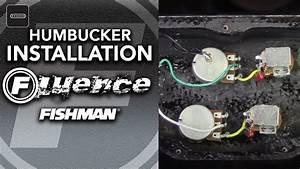 Fishman Fluence Humbucker Installation