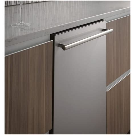 monogram  top control built  dishwasher  stainless steel tub stainless steel