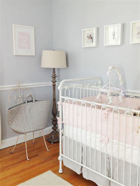 adele lous soft grey  pale pink nursery project nursery