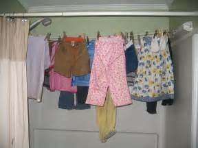Bathtub Clothes Drying Rack by Three Off Grid Alternatives To A Clothes Dryer