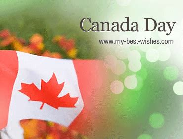 Happy Canada Day Celebrate Wishes Messages