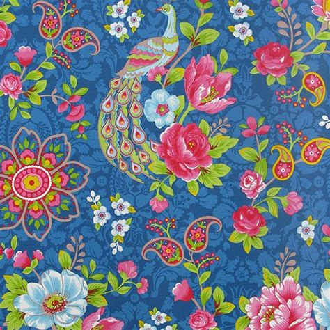 birds  paradise wallpaper  john lewis colourful